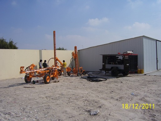 BOREHOLE – Qatar Mega Building Trading & Contracting